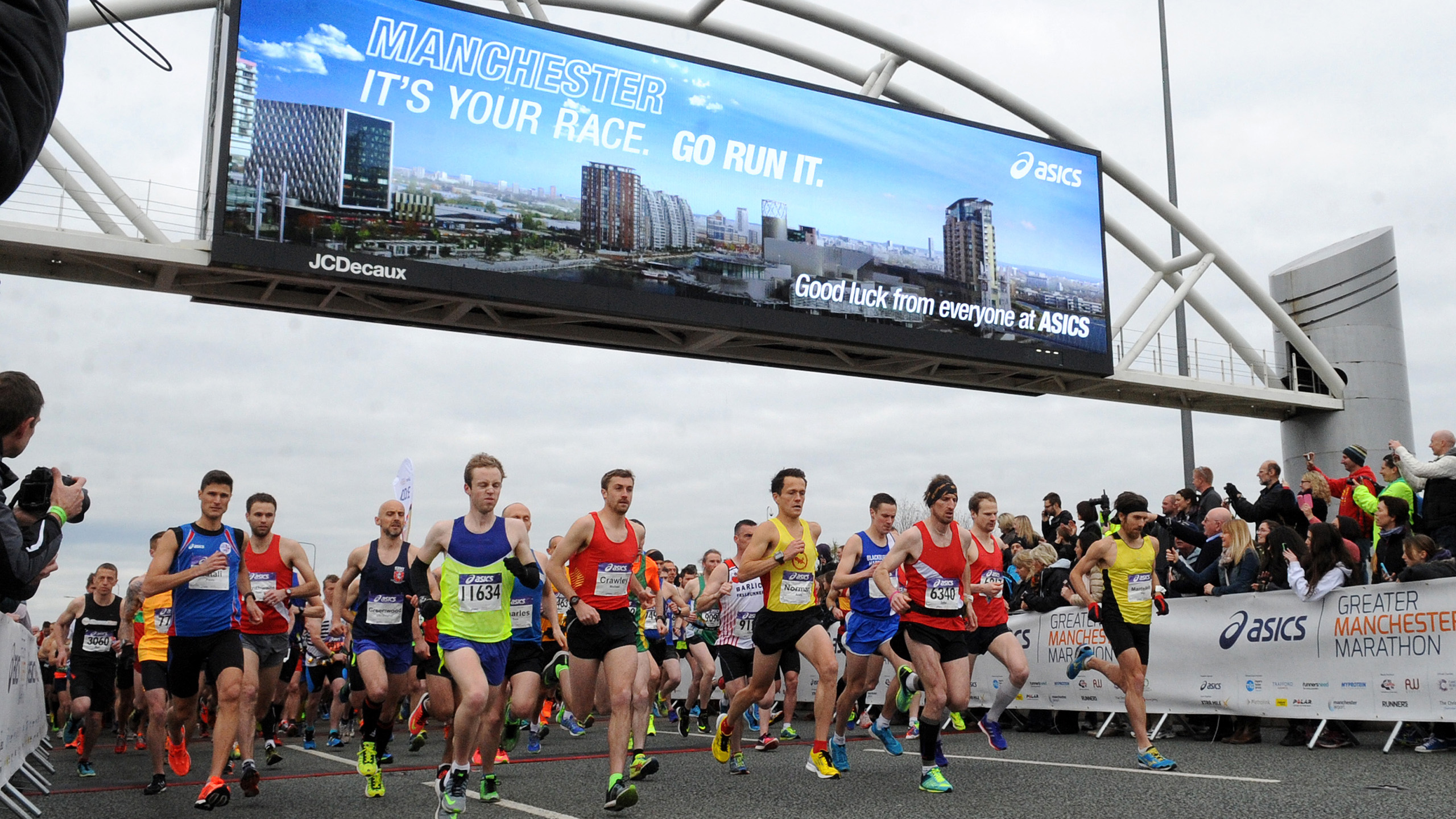 ASICS Greater Manchester Marathon – 8th April 2017