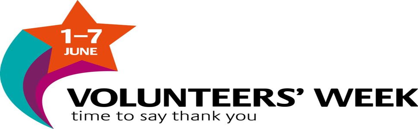 Volunteer Week 1st – 7th June 2017