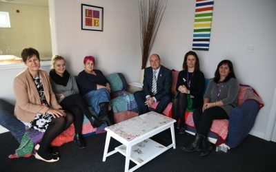 PCC VISITS VICTIMS OF DOMESTIC ABUSE